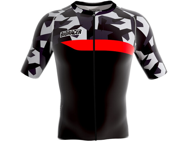 Bioracer Spitfire SS Jersey Men grey-bar